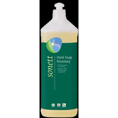 Sonett - Organik Sıvı El Sabunu Biberiye 1 Litre