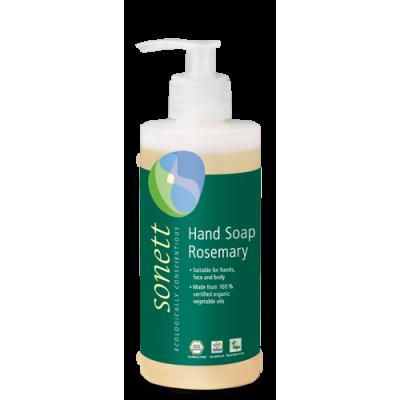 Sonett - Organik Sıvı El Sabunu Biberiye 300 ml