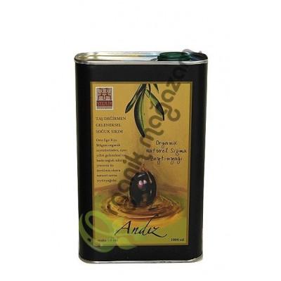Yerlim - Organik Andız Sızma Zeytinyağı (Taş Baskı-Soğuk Sıkım) 1 Litre