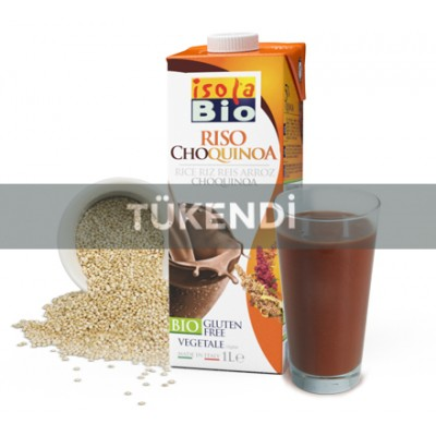 Isola Bio - Organik Glutensiz Kinoa ve Pirinç İçeceği (Riso ChoQuinoa) 1 Litre