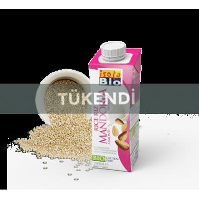 Isola Bio - Organik Glutensiz Pirinç ve Badem İçeceği (Rice Mandorla) 250ml