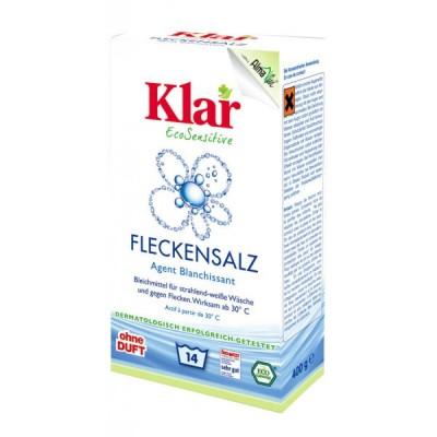 Klar - Organik Çamaşır Suyu Tozu 400 gr