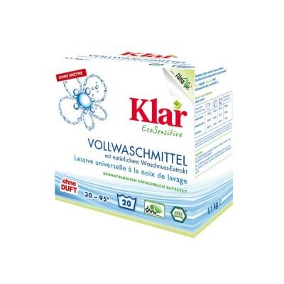 Klar - Organik Çamaşır Yıkama Tozu ( Beyaz + Renkli) 1,1 Kg