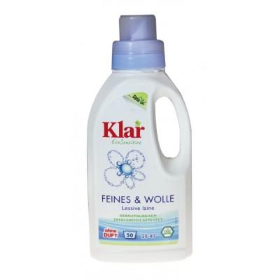 Klar - Organik İpekli ve Yünlüler İçin Yıkama Sıvısı 500 ml
