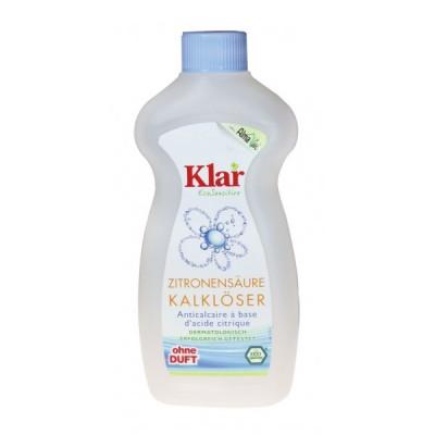 Klar - Organik Limon Asitli Kireç Çözücü 500 ml