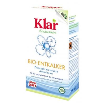 Klar - Organik Toz Kireç Çözücü 280 gr