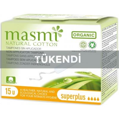 Masmi - Organik Pamuk Tampon (Superplus) 15 Adet