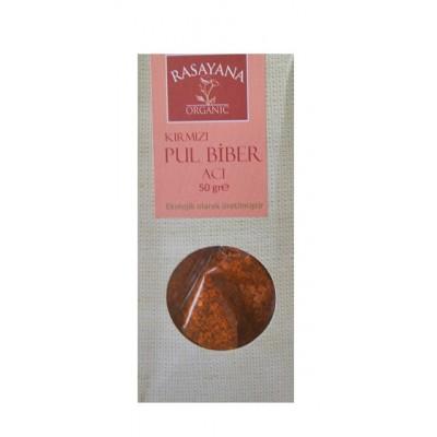 Rasayana - Organik Acı Kırmızı Pul Biber 50 gr