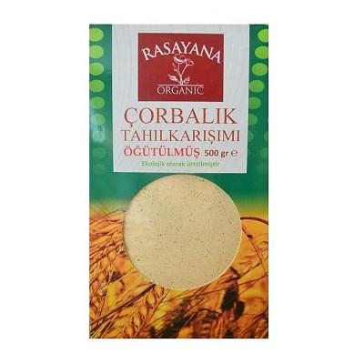 Rasayana - Organik Çorbalık Tahıl Karışımı (Öğütülmüş) 500gr