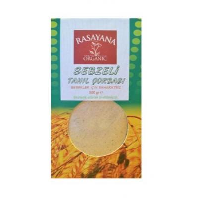 Rasayana - Organik Sebzeli Tahıl Çorbası (Bebek Çorbası) 500 gr