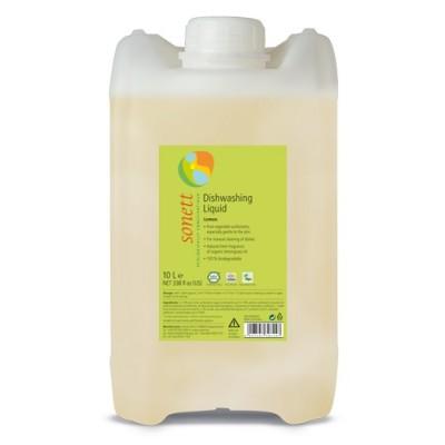Sonett - Organik Elde Bulaşık Yıkama Sıvısı - Limonotlu 10 Litre