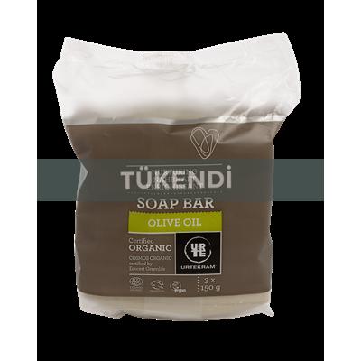 Urtekram - Organik Katı Sabun (Zeytinyağı) 3x150gr
