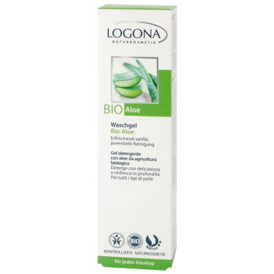 Logona - Organik Aloe Özlü Yıkama Jeli 100 ml