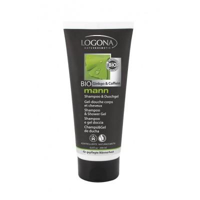 Logona - Organik Erkek  Vücut ve Saç Şampuanı 200 ml