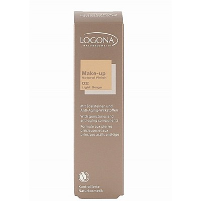 Logona - Organik Likit Fondöten-Light Beige 30 ml
