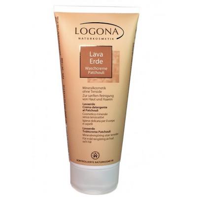 Logona - Organik Patchouli İçeren Killi Yıkama Kremi 200 ml